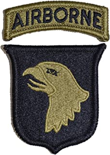 101st Airborne Division Multicam Patch with Airborne Tab
