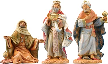Fontanini by Roman Kings Nativity Set, 3-Piece, 5-Inch Each