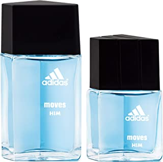 Adidas Moves for Him 2 Piece Eau De Toilette Set
