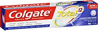 Colgate Total Advanced Whitening Antibacterial Fluoride Whitening Toothpaste 200g