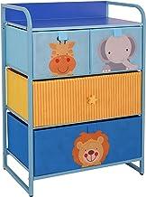 MY LUNA HOME Kids Dresser with 4 Drawers – Nursery Storage & Organizer Furniture for Children, Toddler, Baby– Heavy Duty, ...
