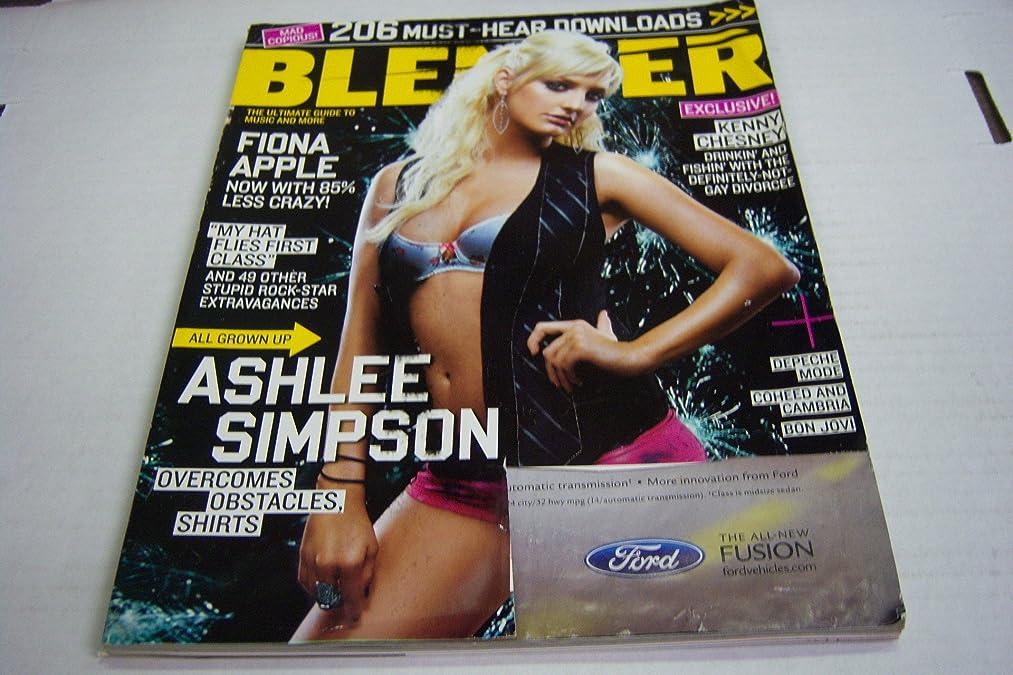Blender December 2005 All Grown up Ashleee Simpson Exclusive! Kenny Chesney (Blender)