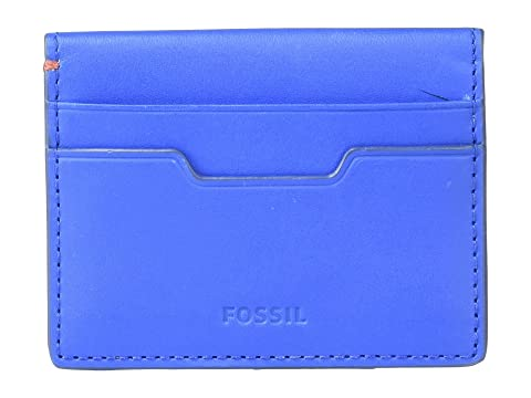 Magnetic Blue Ellis Card Case Fossil YPqRw