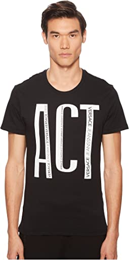 Versace Jeans Act Graphic Tee