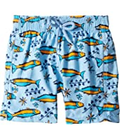 Vilebrequin Kids - Sardines À L'Huile Swim Trunk (Toddler/Little Kids/Big Kids)