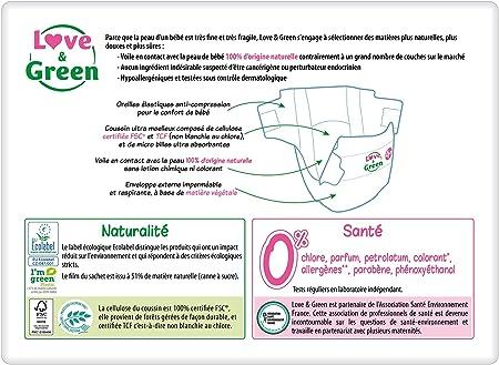 Love /& Green ecol/ógica pa/ñales Mes Paquete