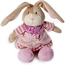 Mousehouse Gifts Baby Girl Cute Plush Pink Bunny Rabbit Stuffed Animal Soft Toy Baby Shower Christening Gift