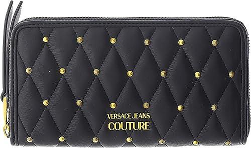 Versace jeans portafoglio da donna porta carte di credito in pelle sintetica E3VWAPQ171881899