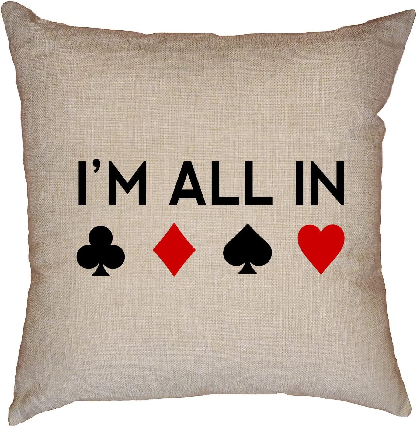 Hollywood Thread Max 57% OFF I'm All in - Classic Suits Some reservation Gambli Poker Cool