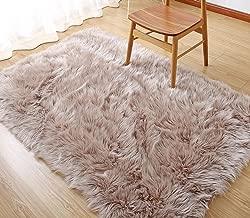 Best sheep fur rug Reviews