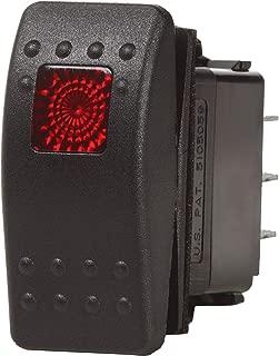 Contura II Switch SPDT Black - (ON)-OFF-ON
