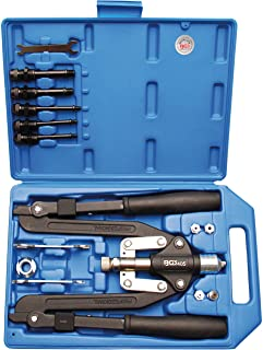 BGS 405   Profi Nietzangen Satz   Langarm   3,2   6,4 mm   für Alu  und Stahlnieten   Griffe umklappbar