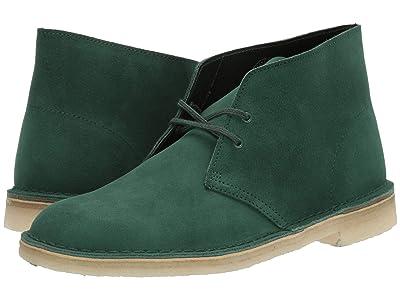 Clarks Desert Boot (Forest Green Suede) Men