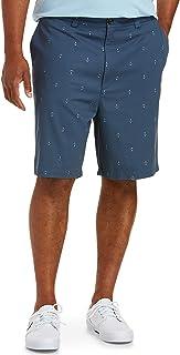 Amazon Essentials Men's Big & Tall Classic-fit Flat-Front Short fit by DXL