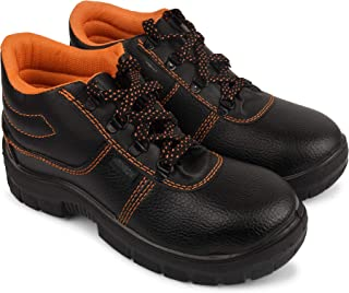 Aktion Safety Synthetic Leather Shoes RA-704 - Size 10, Black