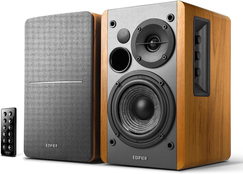 Edifier R20DB Powered Bluetooth Bookshelf Speakers   Optical ...