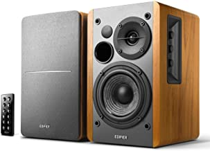Edifier R1280DB Powered Bluetooth Bookshelf Speakers - Optical Input - Wireless Studio Monitors -...