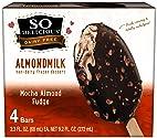 So Delicious Dairy Free Almondmilk Mocha Almond Fudge Frozen Dessert Bars, 4 count