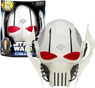 Hasbro Year 2011 Star Wars Electronic Accessory Set - General Grievous Electronic Helmet / Mask with Sound and Phrases