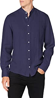 Hackett London Garment Dye Ln PS Camisa para Hombre