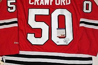corey crawford signed jersey