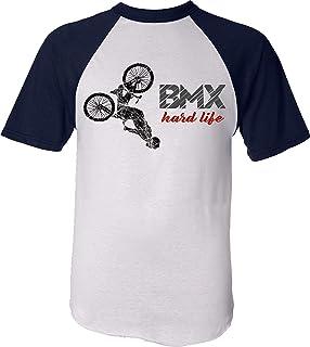 V/élo BMX VTT Mountain T-Shirt Enfant: BMX Hard Life Tee-Shirt pour Jeune-s Cyclistes Anniversaire Noel Dr/ôle Cadeau Fils Gar/çon-s Enfants Fille-s Sport Tricot Pyjama Outdoor