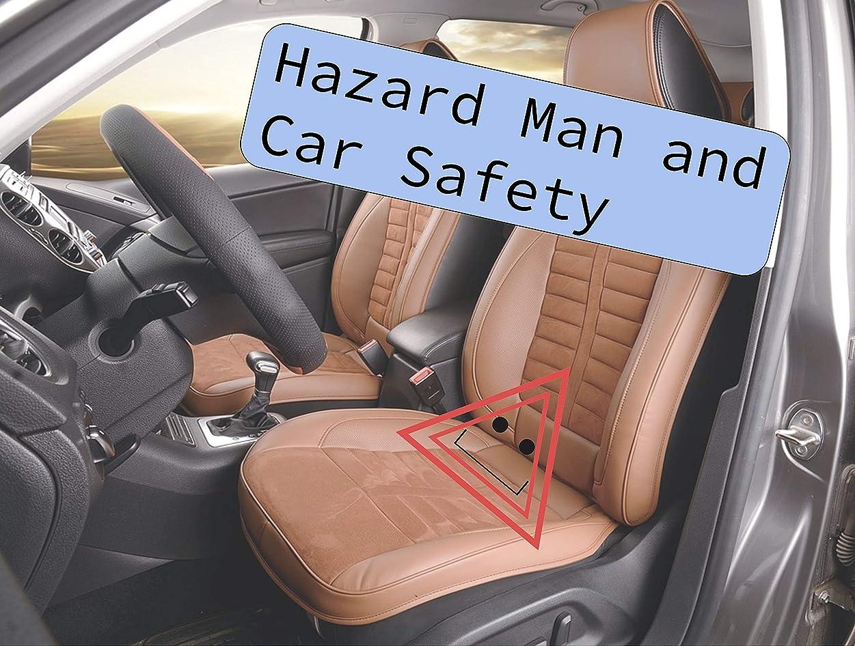 マーキーしょっぱいチーフHazard Man and Car Safety: Teach your kids how to stay safe in the car with Hazard Man! (English Edition)
