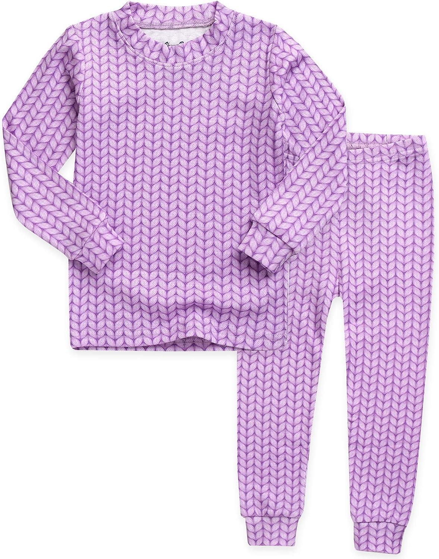 VAENAIT BABY 12M-7T Kids Unisex Girls & Boys Soft Comfy Modal Tencel Sleepwear Pajamas 2pcs Set