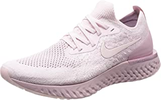 Men's Epic React Flyknit Running Shoe (10 M US, Pearl Pink/Pearl Pink-Barely Rose)