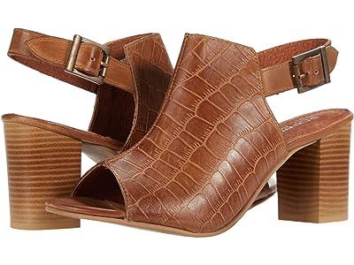 Roper Mika Croco (Tan Embossed Leather) Women