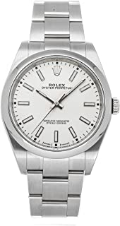 Oyster Perpetual Mechanical (Automatic) White Dial Mens Watch 114300 (Certified Pre-Owned)