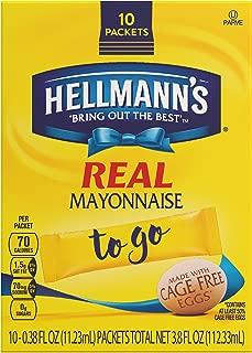 Hellmann's Real Mayonnaise, To Go 10 ct
