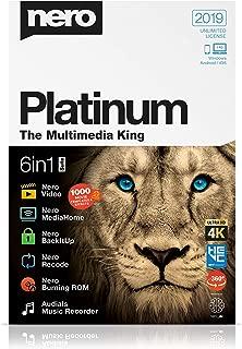 Nero Platinum 2019 [Digital] [PC Download]