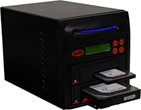 """Systor 1 to 1 SATA 90MB/s HDD SSD Duplicator/Sanitizer - 3.5"""" & 2.5"""" Hard Disk Drive Solid State Drive Dual Port Hot Swap ..."""