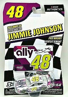 Jimmy Johnson #48 Ally NASCAR Authentics 2020 Wave 8 1/64 Die-Cast New