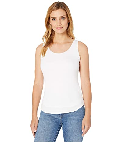 Karen Kane Double Layer Tank (White) Women