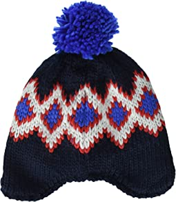 Jack Wolfskin Diamond Knit Cap (Little Kids/Big Kids)