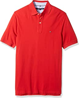 Tommy Hilfiger Men`s Big and Tall Polo Shirt Ivy