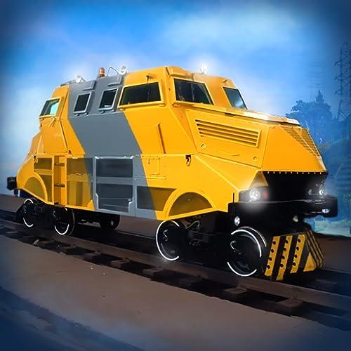 Train Monster Trucks - Games for kids