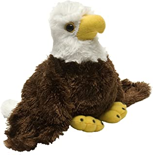 Wild Republic Bald Eagle Plush, Stuffed Animal, Plush Toy, Gifts for Kids, Hug'Ems 7