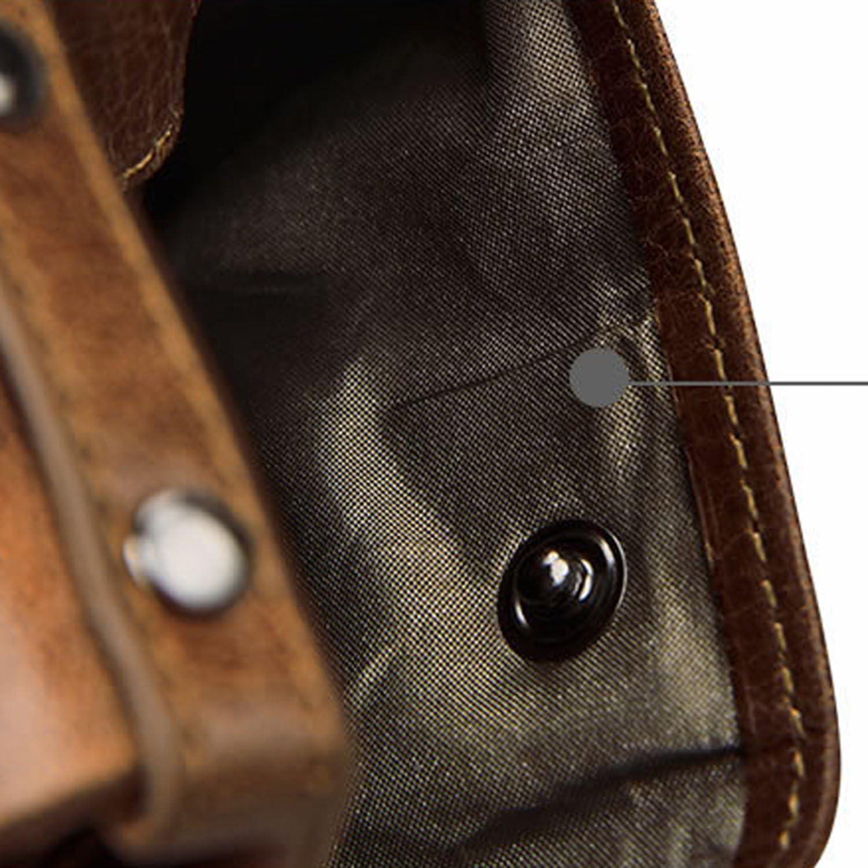 Baellerry Women RFID Blocking Wallet Small Vintage Cowhide Leather Wallet For Women