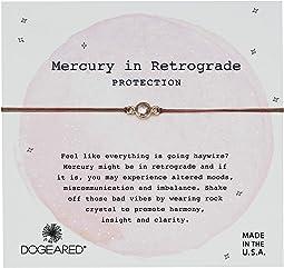 Mercury in Retrograde Protection, Rock Crystal Bracelet