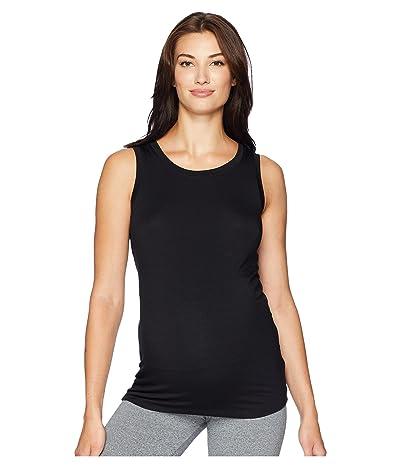 Beyond Yoga Maternity Balanced Muscle Tank Top (Black) Women
