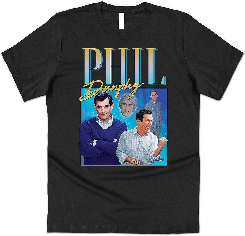 Sanfran Clothing Phil Dunphy Homage Top Funny Modern TV Show Retro 90s Vintage Cam Camiseta