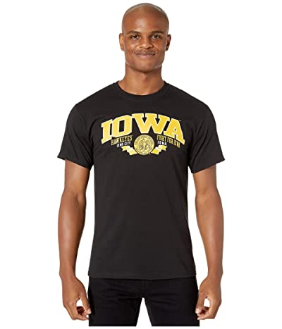 Champion College Iowa Hawkeyes Jersey Tee (Black 1) Men