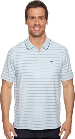 Mauldin Stripe Signature Polo