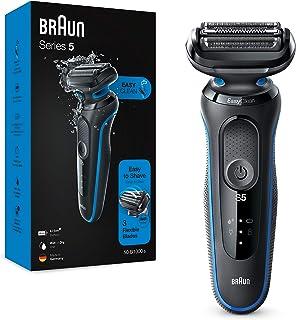 Braun Series 5 50-B1000s Afeitadora Eléctrica, máquina de afeitar barba hombre de Lámina, Uso en Seco y Mojado, Recargable...