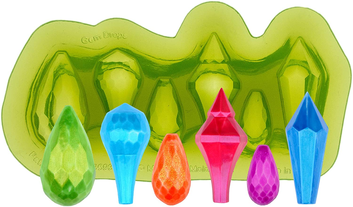 wholesale Marvelous Molds Gem Drops Silicone Decorating for Cake Indefinitely with Mold