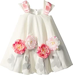 fiveloaves twofish Flowers for Me Swing Dress (Toddler/Little Kids)