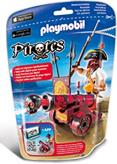 Playmobil Interactive 6163 Cannon with Buccaneer